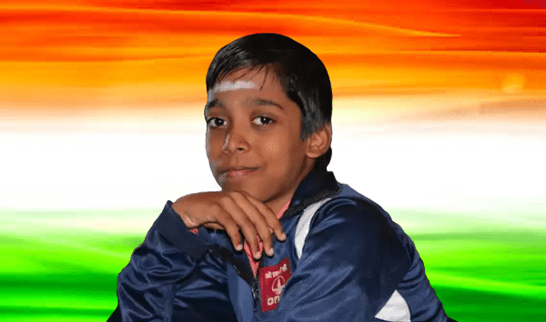 Youngest International Chess Master in History (Praggnanandhaa)