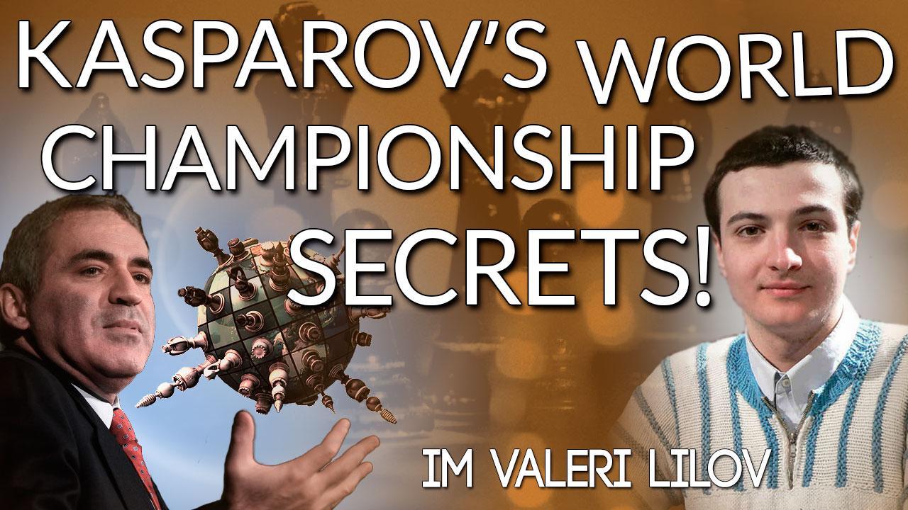 Garry Kasparov's World Championship Secrets!