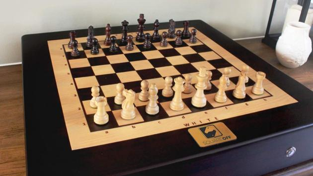 Square Off. The next big thing in the world of chess.