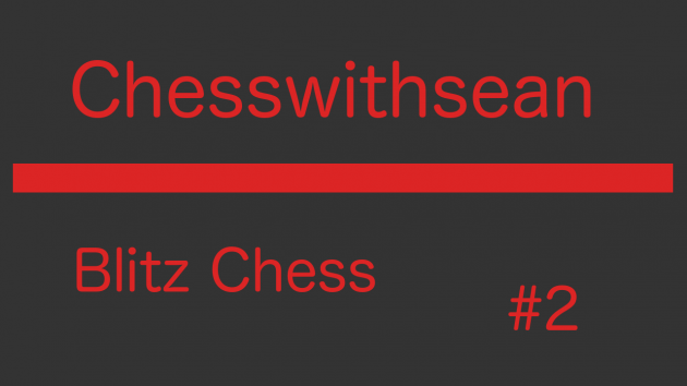 Blitz Chess Game #2 Sicilian Defense: Hyperaccelerated Dragon