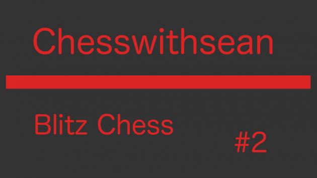Blitz Chess Game #2 Sicilian Defense: Hyperaccelerated Dragon