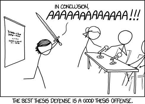 The Best Defense is a Good Offense!