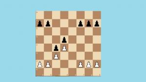French defense Exchange variation , 4.Bd3 c5 , part 4 , 5.c3 , Black advances to ...c4.'s Thumbnail