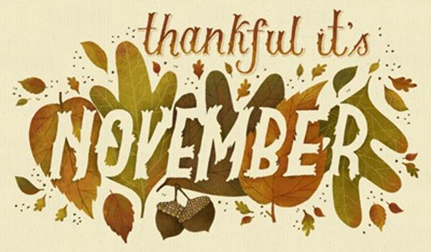Monthly Blog: November 2016