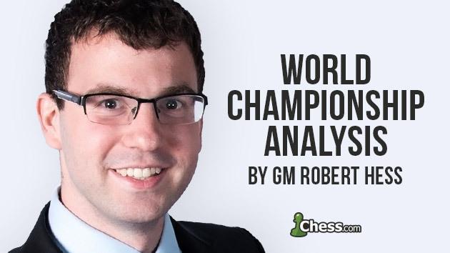 World Championship Round 1: Game Analysis