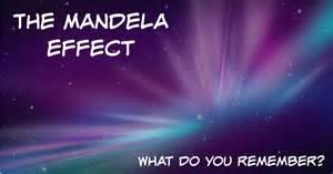 THE MANDELA EFFECT... WHAT DO YOU REMEMBER?!