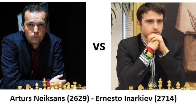 Endgame analysis from German Bundesliga: Neiksans - Inarkiev