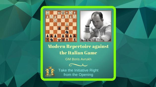 New Opening Database by GM Boris Avrukh - Modern Repertoire against the Italian Game - Review