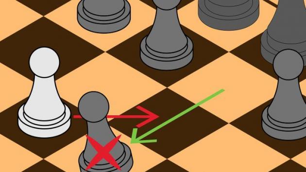 Using En Passant to gain a mental advantage