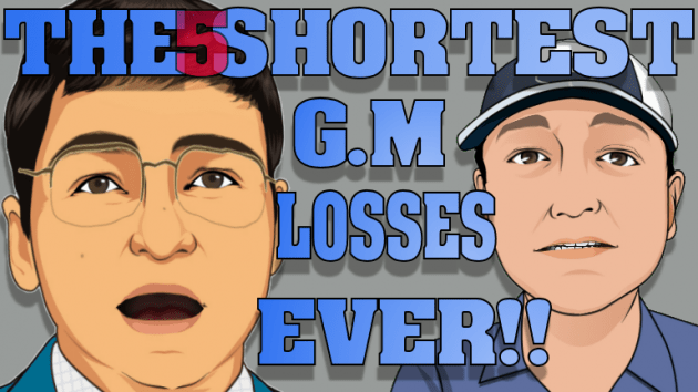 The 5 shortest GM losses ever!!