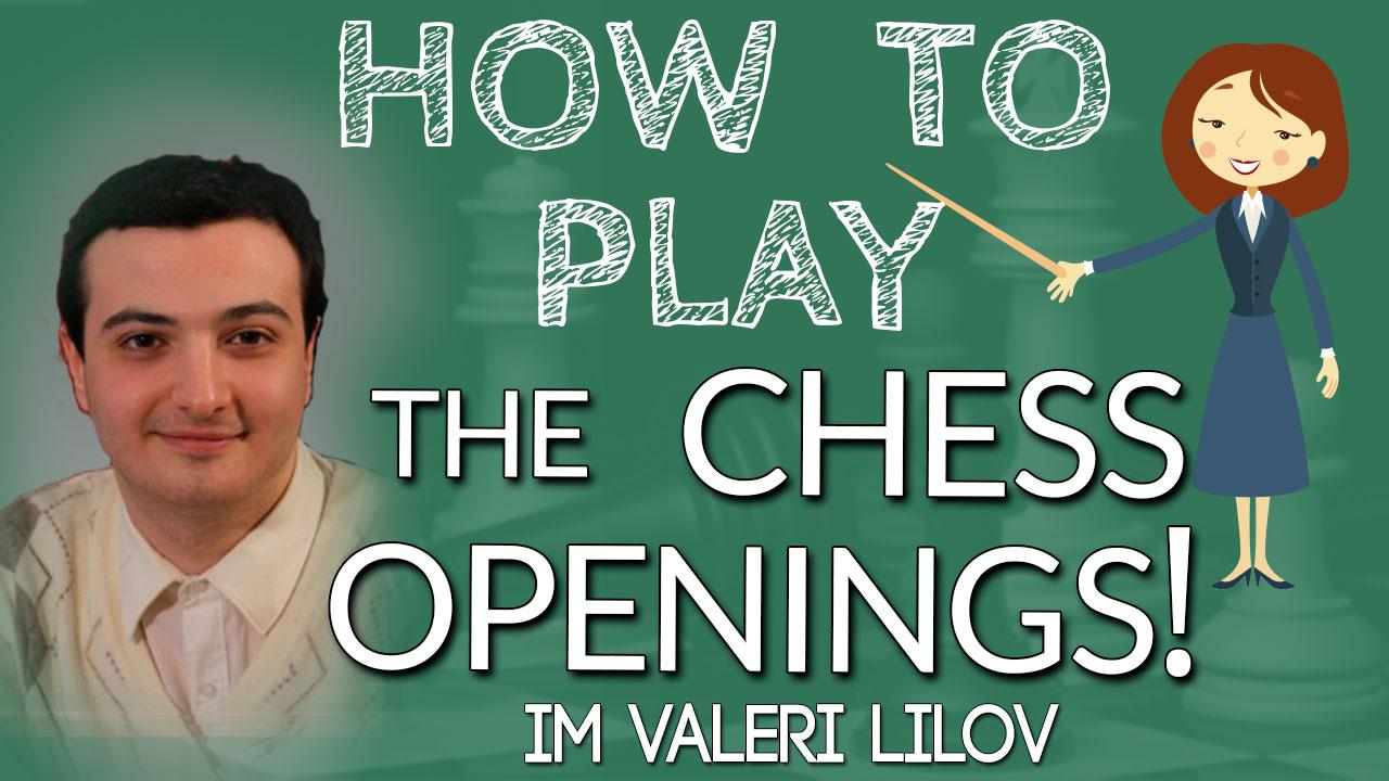 How to Play Chess Openings!