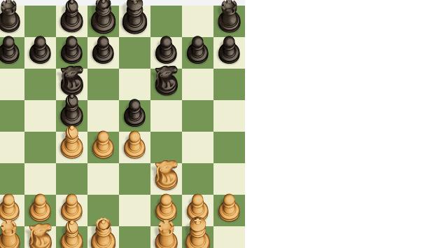Model game 1.c55. Italian game