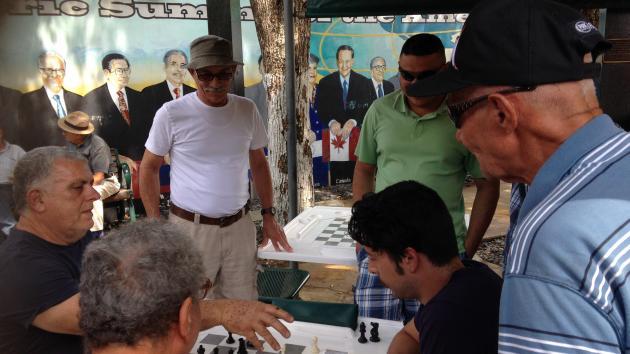 Chess at Domino Park