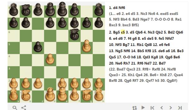 Trompowsky-Vaganian Gambit. 1