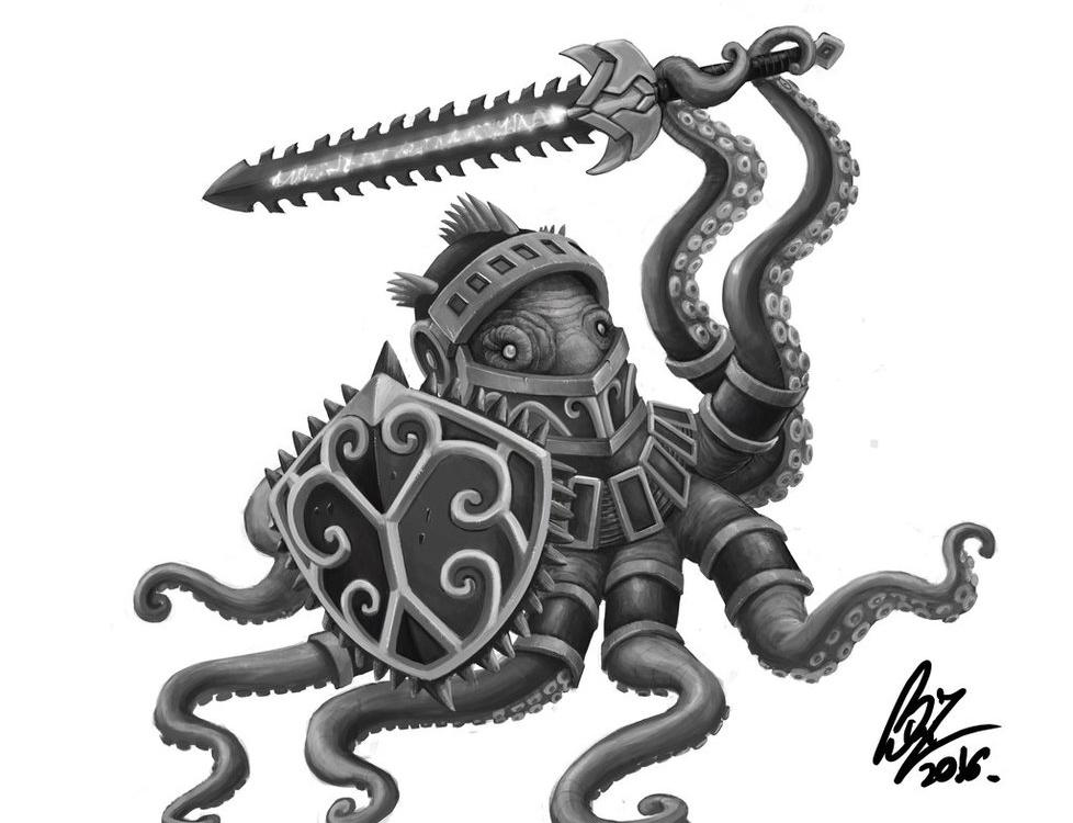 Octopus Knight