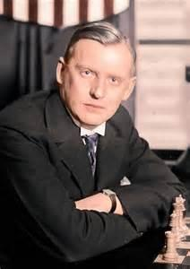 Alekhine's  excellent Bishop Sacrifice