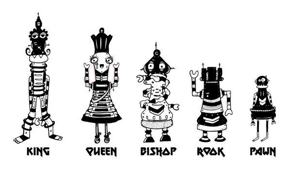 Glowbot Wars! Kiwi chess art project needs you!
