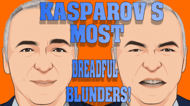 Garry Kasparov's most dreadful blunders ever!