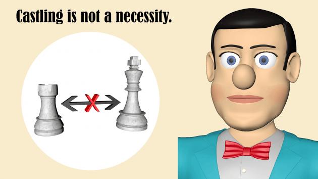 Do not make castling from habit.