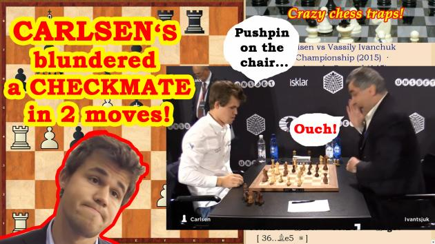 Carlsen blunders a checkmate in 2 moves! Ivanchuk has jumped up!