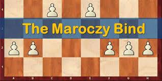 Maroczy Bind with a nice finish