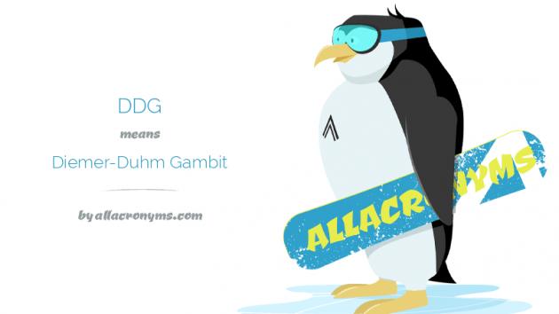 Diemer Duhm Gambit