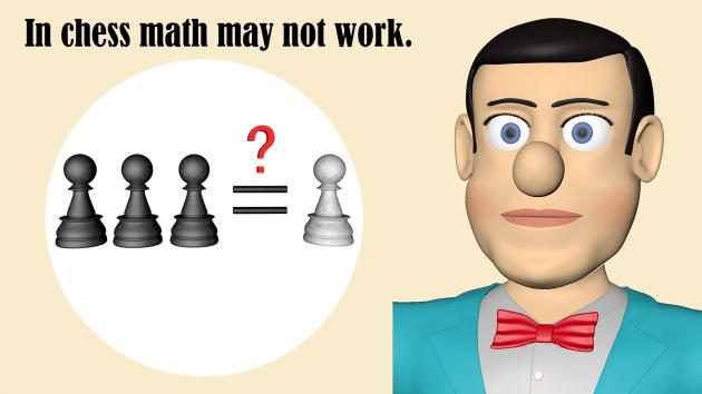 Beware of organizing pawns