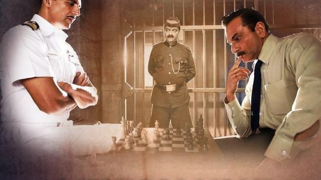 Akshay Kumar vs Chief investigating officer - Rustom Movie - Chess game!