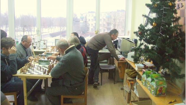 In February 7 Radviliškis chess turnament