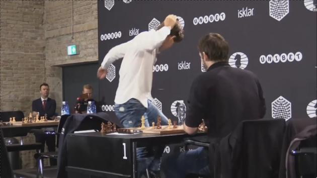 Carlsen is a nice guy but an angry loser!