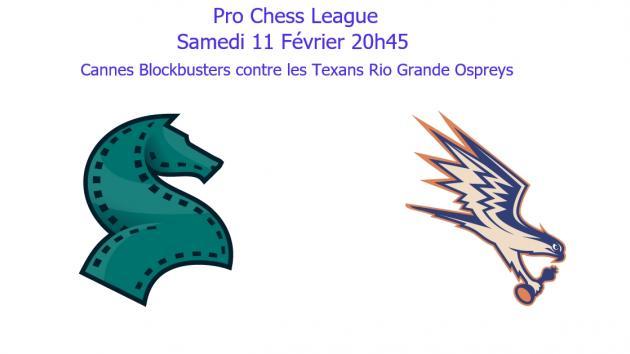 L'équipe de Cannes se déplaçait au Texas pour la Pro Chess League !