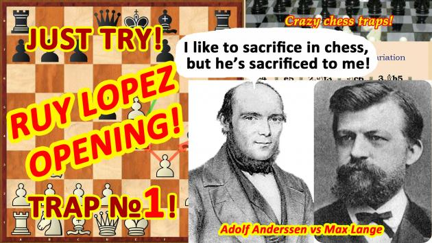 Adolf Anderssen and his rare defeat.