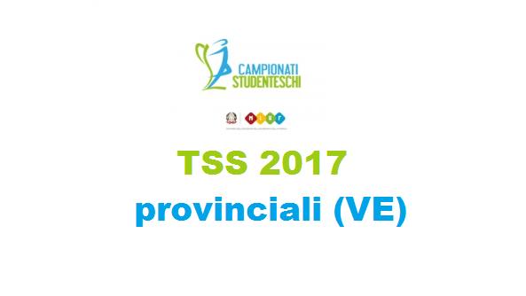 GSS provinciali Venezia 2017 - scuole superiori