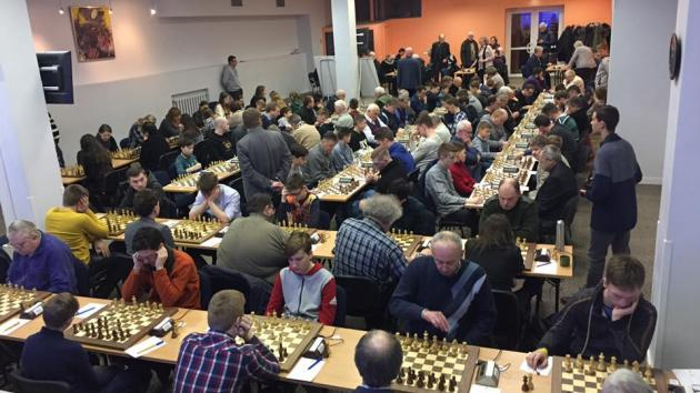Lithuanian chess championship. Day 1