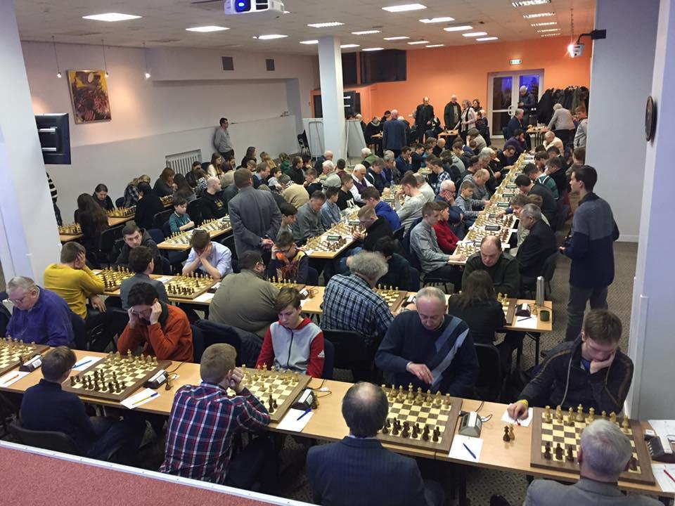 Lithuanian chess championship. Day 2