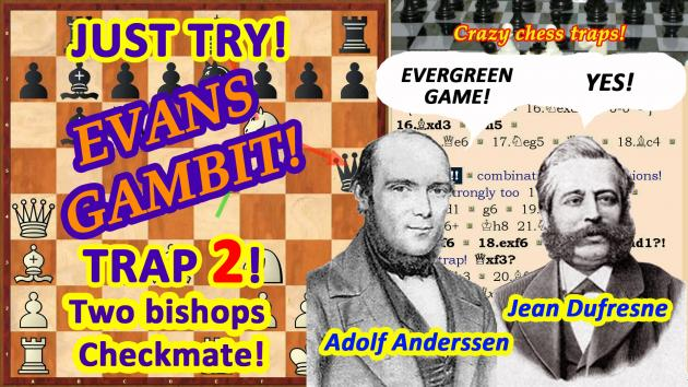Andersen's Chess Trap!