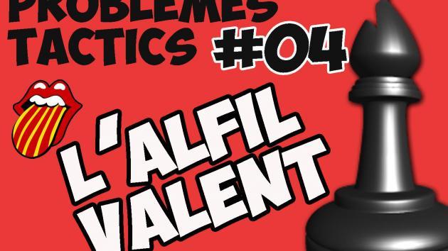 Escacs Problemes Tàctics #04 L'alfil valent