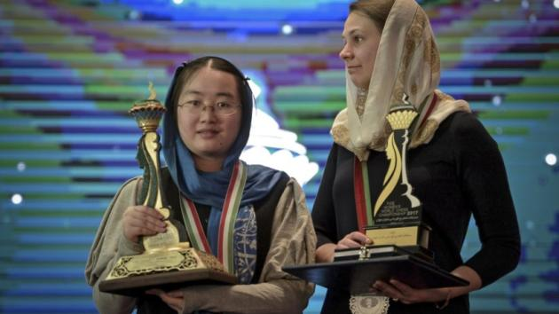Tan Zhongyi produces surprise victory in women's world championship