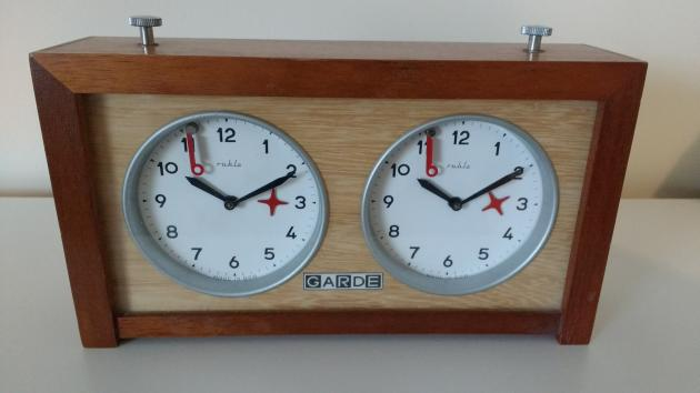 Garde Chess Clock for Sale