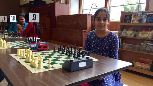 Girls make their move into the chess world