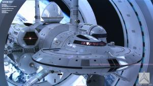 NASA Conjectural Faster Than Light Space Ship