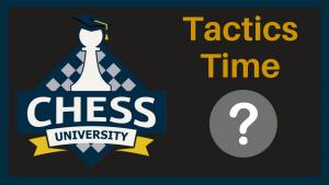 Opening Tactics Puzzle