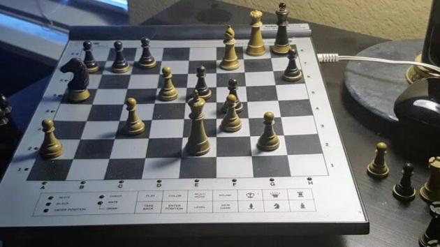 Practice Game vs Radio Shack 1650