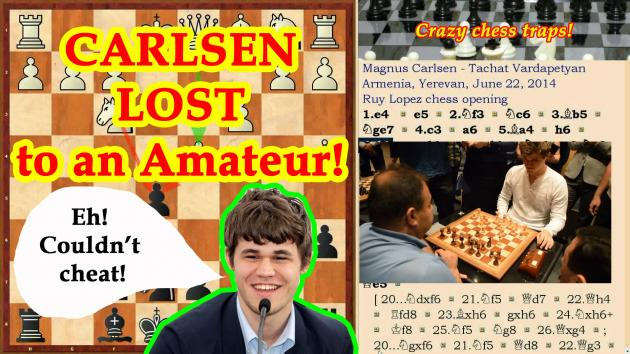Magnus Carlsen lost to an Amateur!