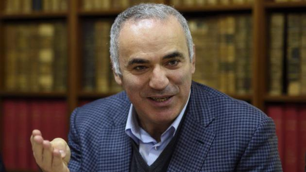 Kasparov wants to bring chess to 1M African schoolchildren