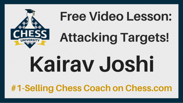 Free Video Lesson On Attacking Targets With Kairav!