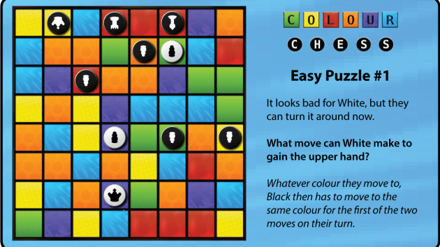 Colour Chess Puzzles