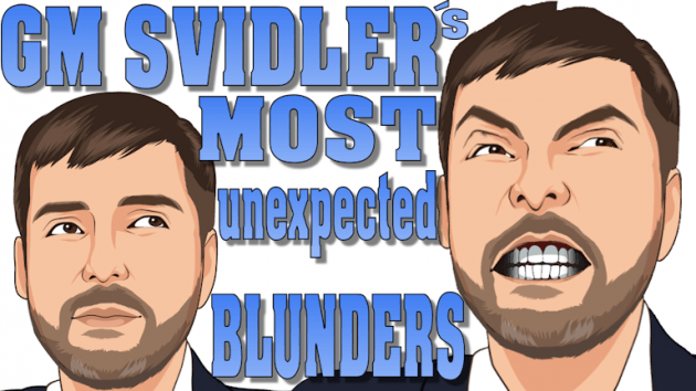 Svidler's 5 most unexpected blunders!