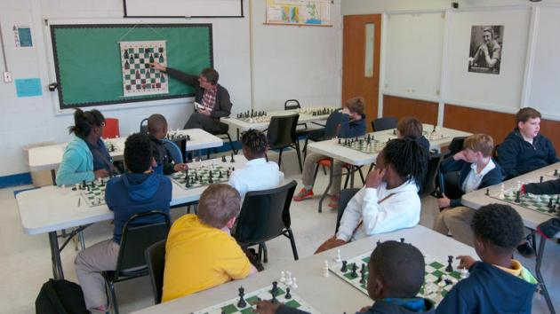 Children from Franklin County Use Chess for Assignment Help