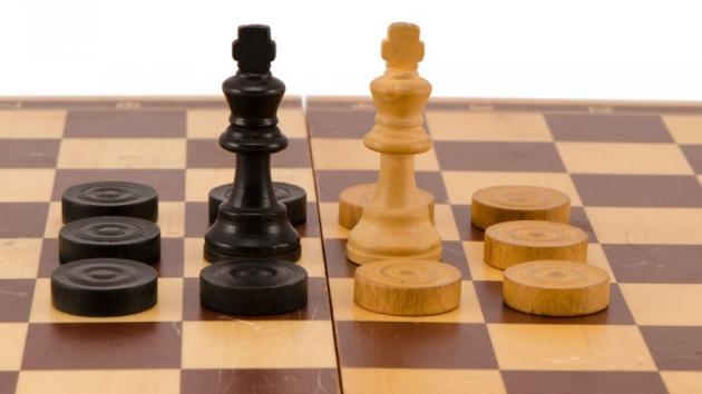 Checkers Chess!